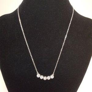 Lia Sophia Delicate Silver Necklace